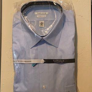 Men's Van Heusen Classic Fit button up Brand new